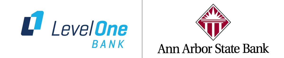 Level One Bank and Ann Arbor State Bank Merger